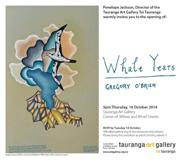 Greg O'Brien Whale Years
