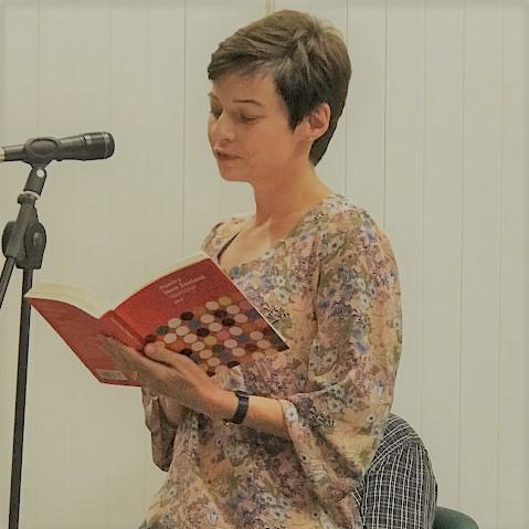 Poetry NZ Launch Bronwyn Lloyd photo.jpeg